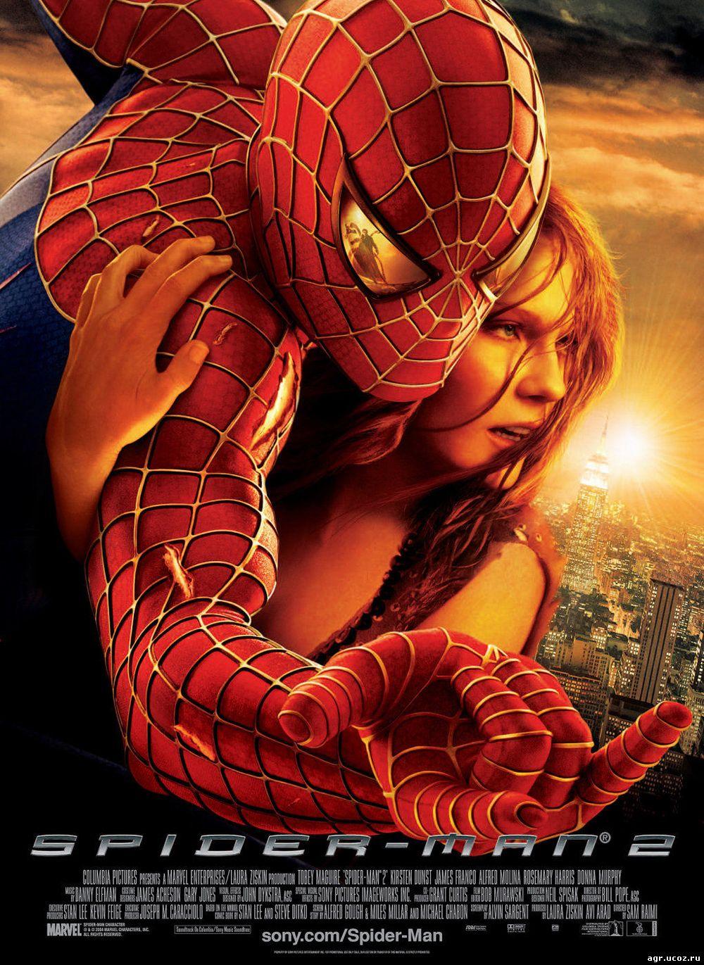 Оригинальное название spider man 2